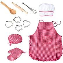 Grembiule Cucina Bambini Fai Da Te.Grembiule Cucina Bambini 12 15 Anni Amazon It