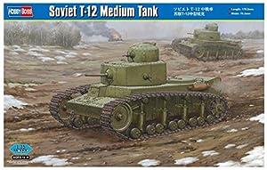 Hobbyboss 83887Escala 1: 35soviética T-12Medio Tanque Kit de plástico Modelo