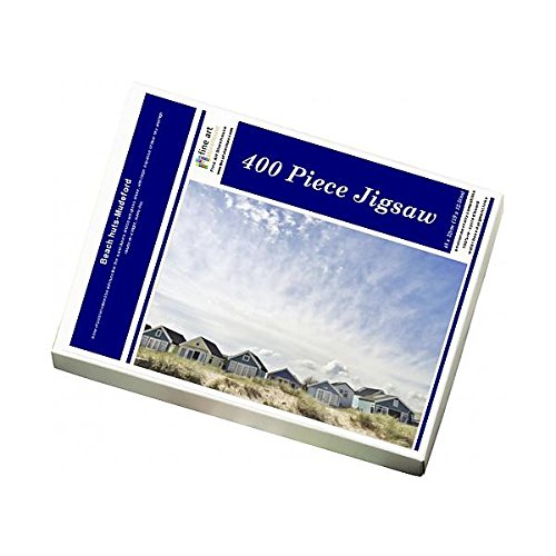 Media Storehouse 400 Piece Puzzle of Beach huts-Mudeford (12096806)