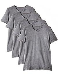 Marc O'Polo Body & Beach Herren Unterhemd SHIRT V-NECK (DOPA), 2er Pack