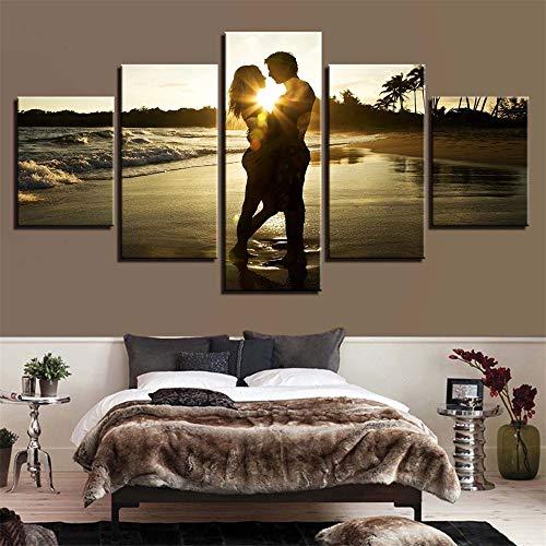 Malerei,Einfache Multi-Wand-Malerei Inkjet Strand Rock Sea View Room Home kreative Handwerk Malerei Malerei 9 Malerei Kern 40x60cmx2 40x80cmx2 40x100cmx1 ()