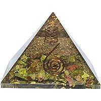 Crocon Unakite Edelstein Energetische Pyramide mit Kristall Pointer Reiki Healing Chakra Balancing Aura Cleansing... preisvergleich bei billige-tabletten.eu