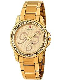 Swiss Trend ST2227 Analog Gold Dial Women's Watch