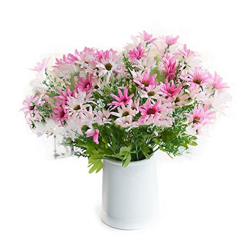 tianfuheng Charming künstlichen Little Daisy Blumen Hochzeit Home Dekoration, 1Bouquet, plastik, rose, Einheitsgröße (Bulk Künstliche Rose)