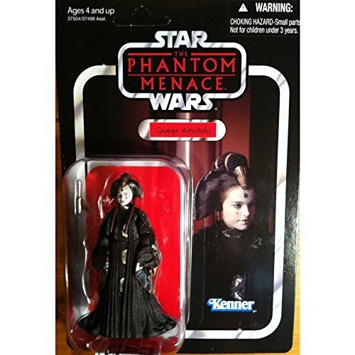 4–Figur–Star Wars Figur Vintage–Queen Amidala (Star Wars Amidala)