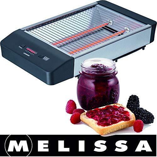 Melissa Flachtoaster,Flach-Toaster, Tischröster,Tisch Röster,...