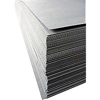 Graupappe für Schablonen, 0,5 mm, 95x135 cm, 1 VE mit 60 Bogen (=27,7kg), gerollt