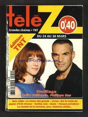 Philippe Vuillemin - TELE Z [No 1541] du 19/03/2012 -