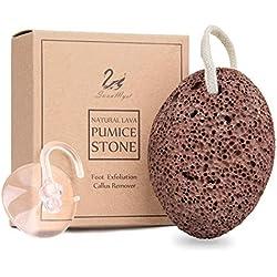 Piedra pómez de lava natural SWANMYST para eliminar callos, exfoliación de piel muerta, lima de pies y herramientas naturales de pedicura