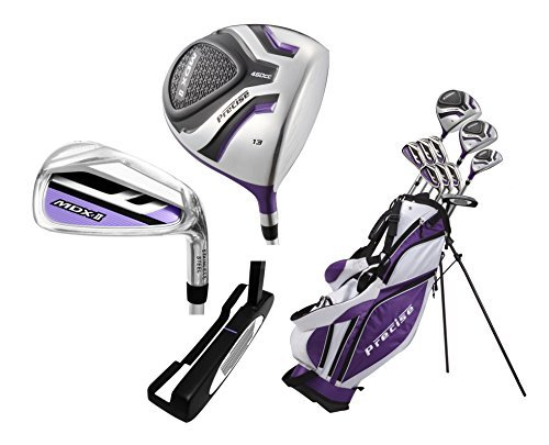 Ladies Petite Complete Women's Golf Club Set (Ladies, Right Hand, -1-inch, Purple) by Top Performance