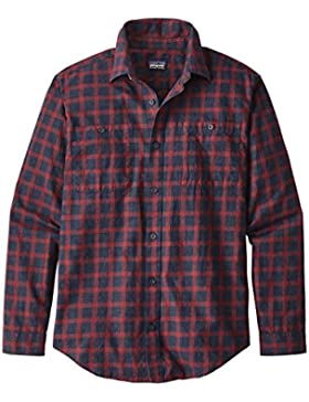 Patagonia Pima Cotton Shirt Carpenter Men–Camicia