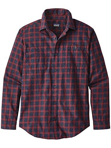 Herren Hemd lang Patagonia Pima Cotton Hemd lodge pine: navy blue