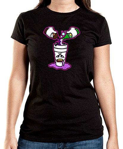 Certified Freak Purple Drank T-Shirt Girls Black XL