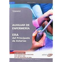 Auxiliar de Enfermería ERA del Principado de  Asturias. Temario (Colección 253)