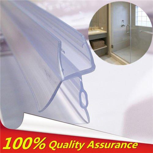 Generic NV _ 1001005086_ yc-uk2M gapen Rip piatta in vetro curvo/4per doccia da bagno Curve da bagno porta Lat G Seal Striscia 4-6mm Vasca da bagno fino a 17mm Gap bagno SH