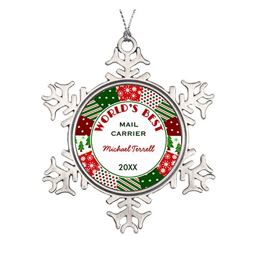 (2015Mail oder Paket) Person Ornaments)