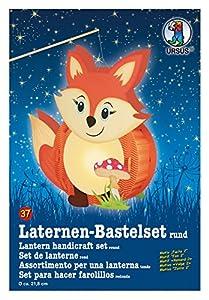 Ursus 18700037 - linternas Bastelset Fuchs, Aproximadamente 21,8 x 31 x 10,3 cm, Colorido