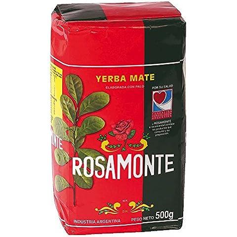 Yerba Mate Mate Rosamonte Industria Argentina Embalaje 500g