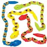 Baker Ross Wackelnde Gliederschlangen für Kinder als kleine Überraschung oder als Preis bei Partyspielen (5 Stück)