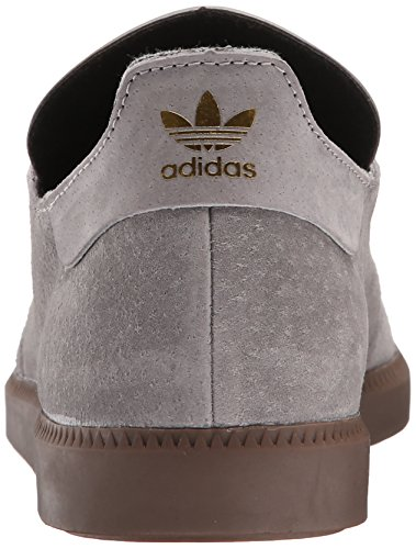 Adidas Performance Samba Mc LTHR scarpe, nero / nero / oro metallico, 7 M Us Solid Grey/Solid Grey/Gold Metallic