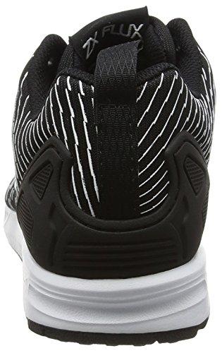 adidas Zx Flux, Chaussures de Running Compétition Homme Noir (Core Black/Core Black/Footwear White)