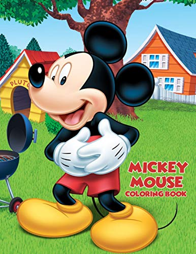Mickey Mouse Coloring Book: Coloring Book for Kids and Adults (Mouse Coloring Books Mickey)
