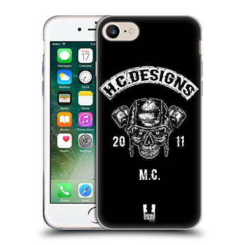 Head Case Designs El Flamenco Anniversario Mix Cover Morbida In Gel Per Apple iPhone 7 Plus / 8 Plus Testa Del Pistone