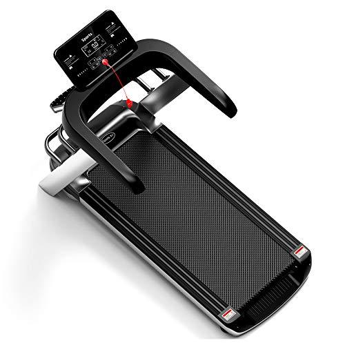 Fitnscle Caminadora eléctrica doméstica, Equipo de acondicionamiento físico Plegable máquina de Running Familiar