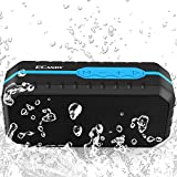 Ecandy Tragbarer Bluetooth V2.1+EDR Lautsprecher Wasserdichter und Stoßfest Bluetooth Speaker
