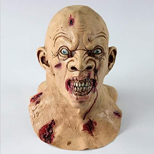 baoqsure Realistische Erwachsene Party Kostüm Horror Maske Deluxe Freddy Krueger Maske Beängstigend Tanz Karneval Cosplay Zombie Maske