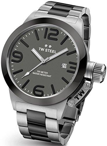 Orologio da polso unisex TW Steel–Canteen Bracelet 50mm-CB202