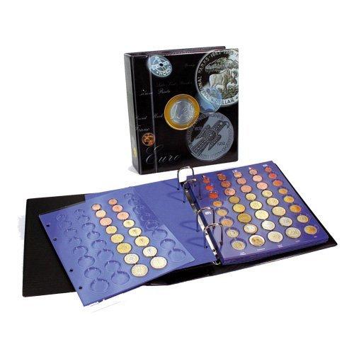 SAFE Münzalbum Münzen Sammelalbum - Euro Münzen aufbewahren - Dein Euromünzen Sammelalbum 1 Cent bis 2 Euro 7817 (Penny-münzen Zu Sammeln)