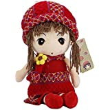 Coffled Cute Little Princess Doll Baby Gril Amazing Plush Toy Birthday Gift- 15.7 Inch