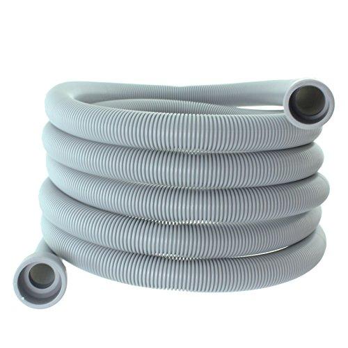 Spares2go Extra Long de Tuyau de vidange Conduite d'eau pour Beko Lave-Vaisselle (4 M 29 mm et 22 mm Connexion)