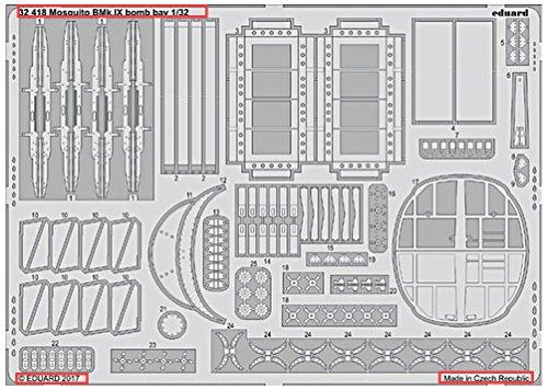 (EDP32418) - Eduard Photoetch 1:32 - Mosquito B Mk.IX Bomb Bay