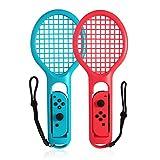 Likecom Mario Tennis Rackets für Nintendo Swith Tennisschläger für Nintendo Switch Joy-Con Optimal für Somatosensorik-Spiele