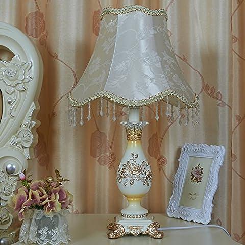 Stati Uniti continentali di camere in stile principessa estate pizzi tessuti letto camera da letto regali di nozze Decorazione lampada ,5103D, interruttore