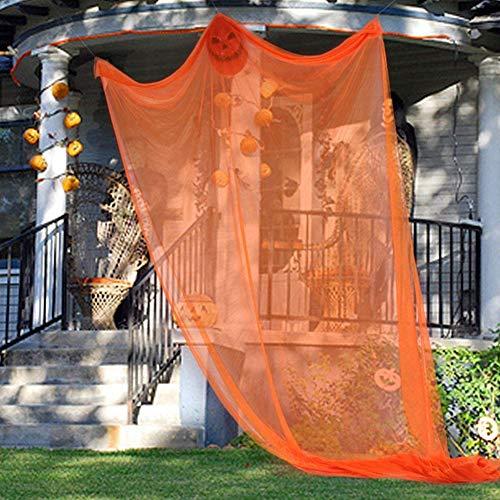 EAHOME Halloween Decor Geister Requisiten Scary Spooky riesige Dekorationen hängen beängstigend Hexe Vorhang für Outdoor Indoor Hof Party Bar Spukhaus liefert, 12 Zoll lang