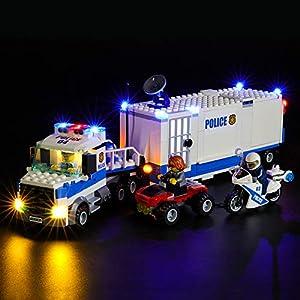 BRIKSMAX Kit di Illuminazione a LED per Lego City Centro di Comando Mobile,Compatibile con Il Modello Lego 60139… Lego Outlet LEGO