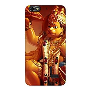 Delighted Lord Hanuman Multicolor Back Case Cover for Honor 4C