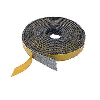 Pyrojoints 501, plana, autoadhesiva, Negro, 2 x 6 mm, Negro, por metro.