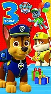 Paw Patrol Carte de voeux Motif festif
