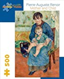 Renoir Mother and Child 500-Piece Jigsaw Puzzle Aa710 (Pomegranate Artpiece Puzzle)
