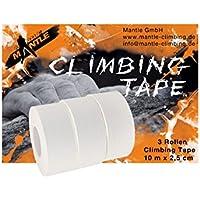 Mantle Espaliers de Gymnastique Escalade 200203 Tape Lot de 3 Taille m (Blanc)