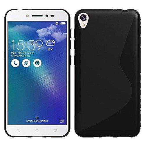 VComp-Shop® S-Line TPU Silikon Handy Schutzhülle für Asus Zenfone Live ZB501KL 5.0