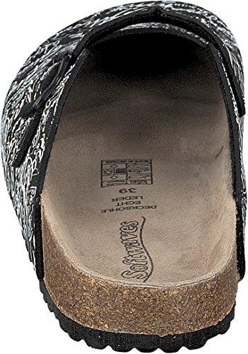 Softwaves , chaussons d'intérieur femme Noir - Noir