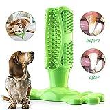 OneBarleycorn - Hunde zahnbürste,Zahnpflege Hunde Spielzeug Zahnreinigungsspielzeug für Hunde, ungiftig, natürlich, bissfest, unzerstörbar (Groß)