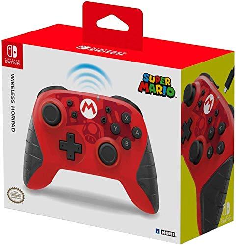 HORI - Horipad inalámbrico Mario Nintendo Switch