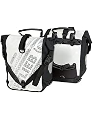Ortlieb Unisex Front-Roller Black'n White Fahrradtasche