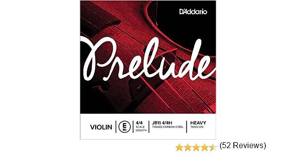 mi Corde seule tension Heavy pour violon/4//4 DAddario Prelude